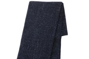 Photograph of Navy Blue Throw Blanket – 120cmL x 180cmW
