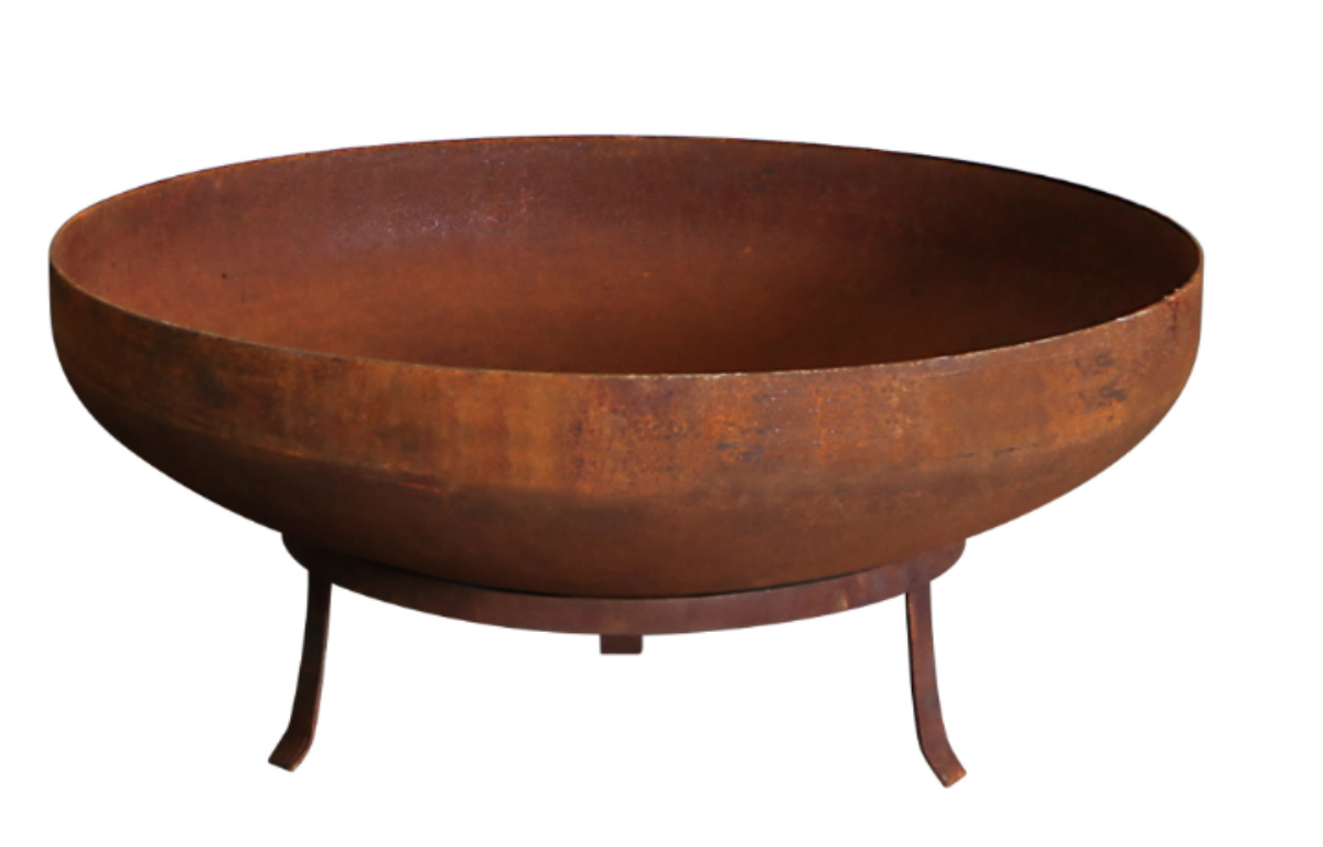 Picture of: Cast Iron Fire Pit With Stand Wood Not Included 90cmd X 50cmh The Event Mill