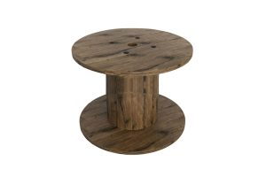 Photograph of Wooden Reel Coffee Table