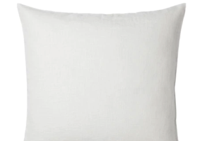 Photograph of White Small Cushion – 37cmSQ
