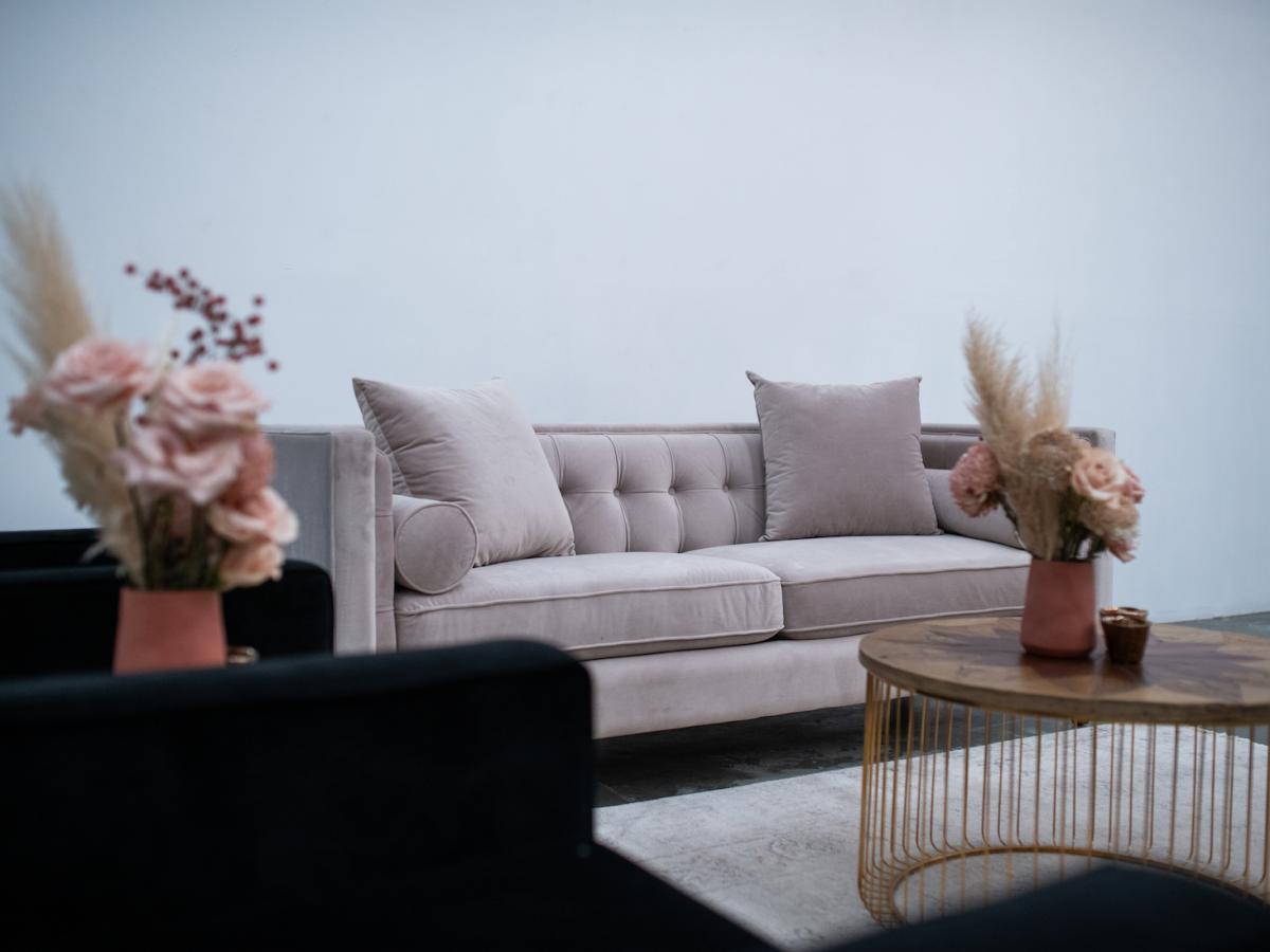 Luxe Velvet 3 seater Lounge