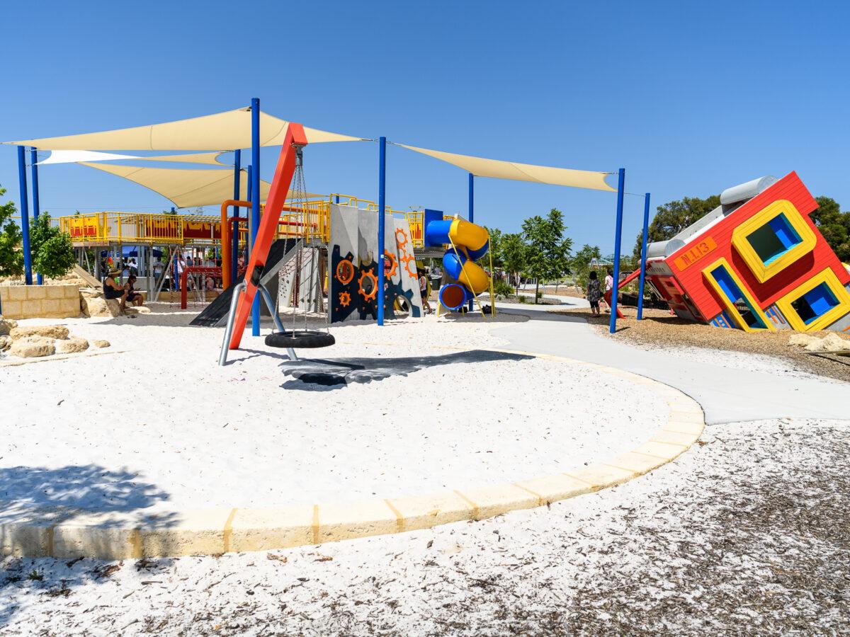 Stockland Robot Park 1st Birthday