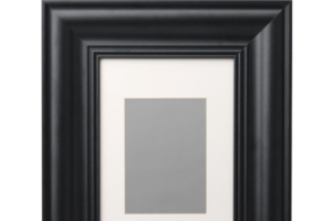 Photograph of Skatteby Black Picture Frame –  21cmW x 30cmH