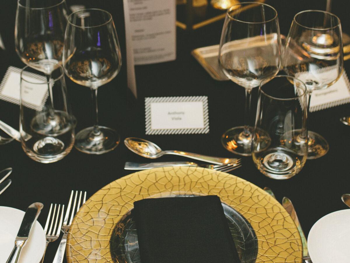 Custom Styling for Gala Dinner