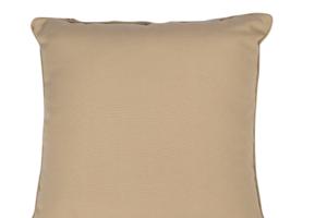 Photograph of Taupe Nylon Cushion – 35cmSQ