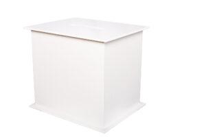Photograph of White Wishing Well Box