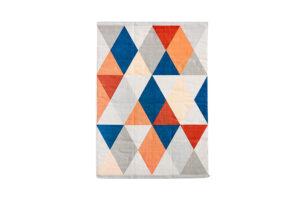 Photograph of Multicolour Geometric Rug
