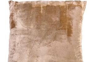 Photograph of Taupe Velvet Cushion – 45cmSQ