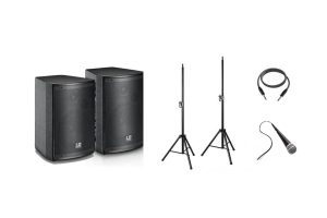 Photograph of Dual Speaker PA System