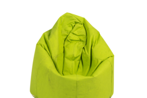 Photograph of Bean Bag Small – Lime Green – 80cm x 100cm