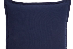 Photograph of Navy Blue Cushion – 43cmSQ