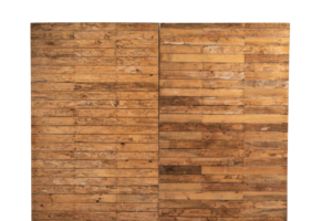 Photograph of Pallet Wall 3mW x 2.4mH (Must be pegged or weighted)