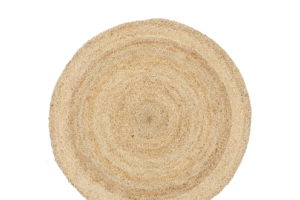 Photograph of Seagrass Round Jute Rug