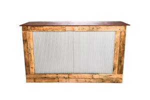 Photograph of Rustic Corrugated Iron Bar