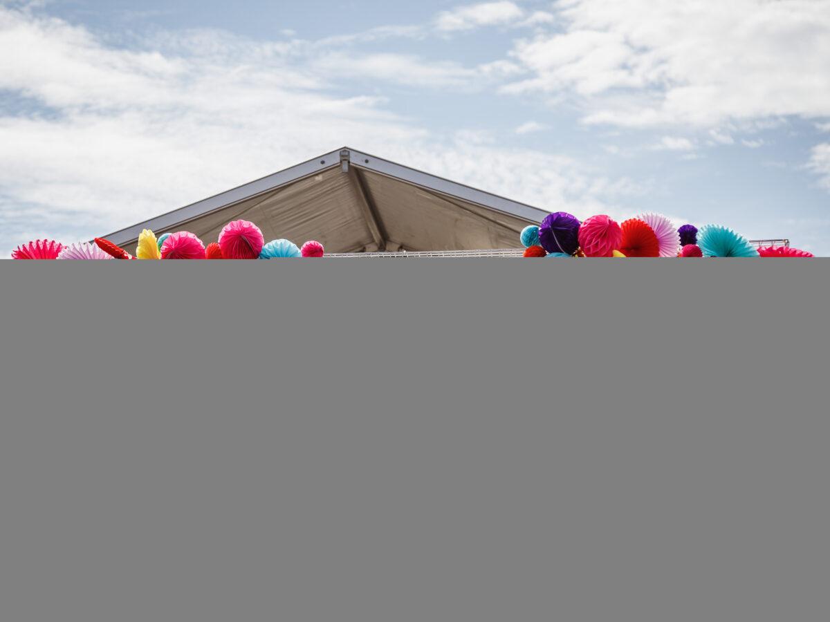 Festival of Fun Entrance Arch & Marquee