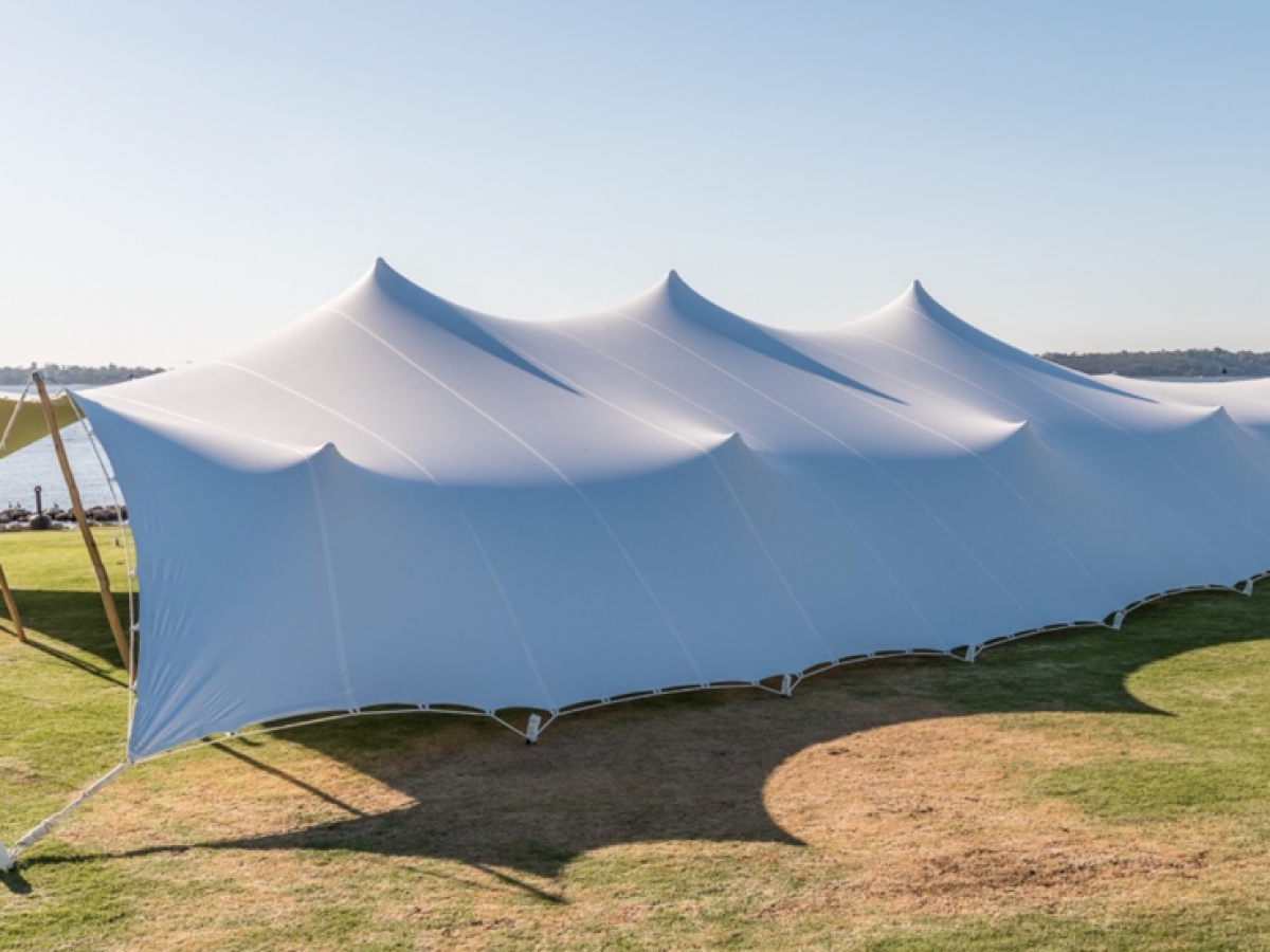 stretch tent hire perth