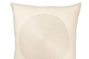 Photograph of Cream Circle Design Cushion