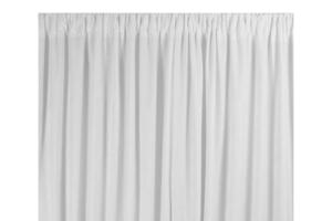 Photograph of White Chiffon Drape – 6mL x 3mW