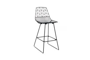 Photograph of Arrow High Bar Stool Black