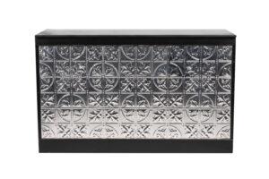 Photograph of Pressed Tin Bar – 2mL x 60cmD x 1.1mH