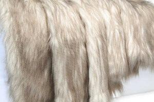 Photograph of Eva Faux Fur Throw – 1.2mL x 1.5mW