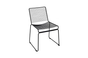 Photograph of Sienna Wire Dining Chairs – Matt Black