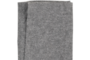 Photograph of Napkin Charcoal Linen Look – 43cmSQ