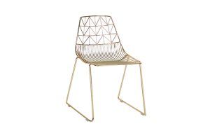 Photograph of Arrow Dining Chair Gold