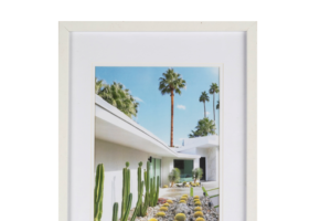 Photograph of Picture Frames assorted White