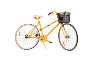 Photograph of Orange Bicycle