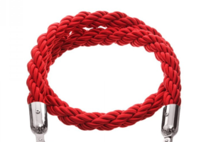Photograph of Bollard Rope Red