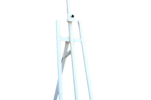 Photograph of Easel White Wooden – 165cmH