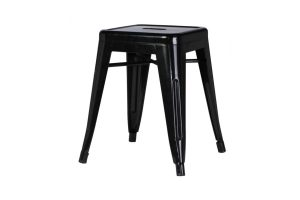 Photograph of Tolix Stool Low Black