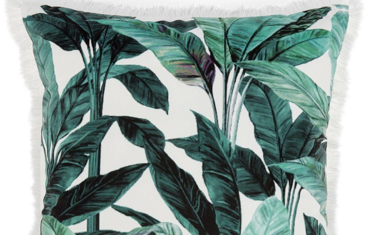 Rainforest_Palm_Print_Cushion