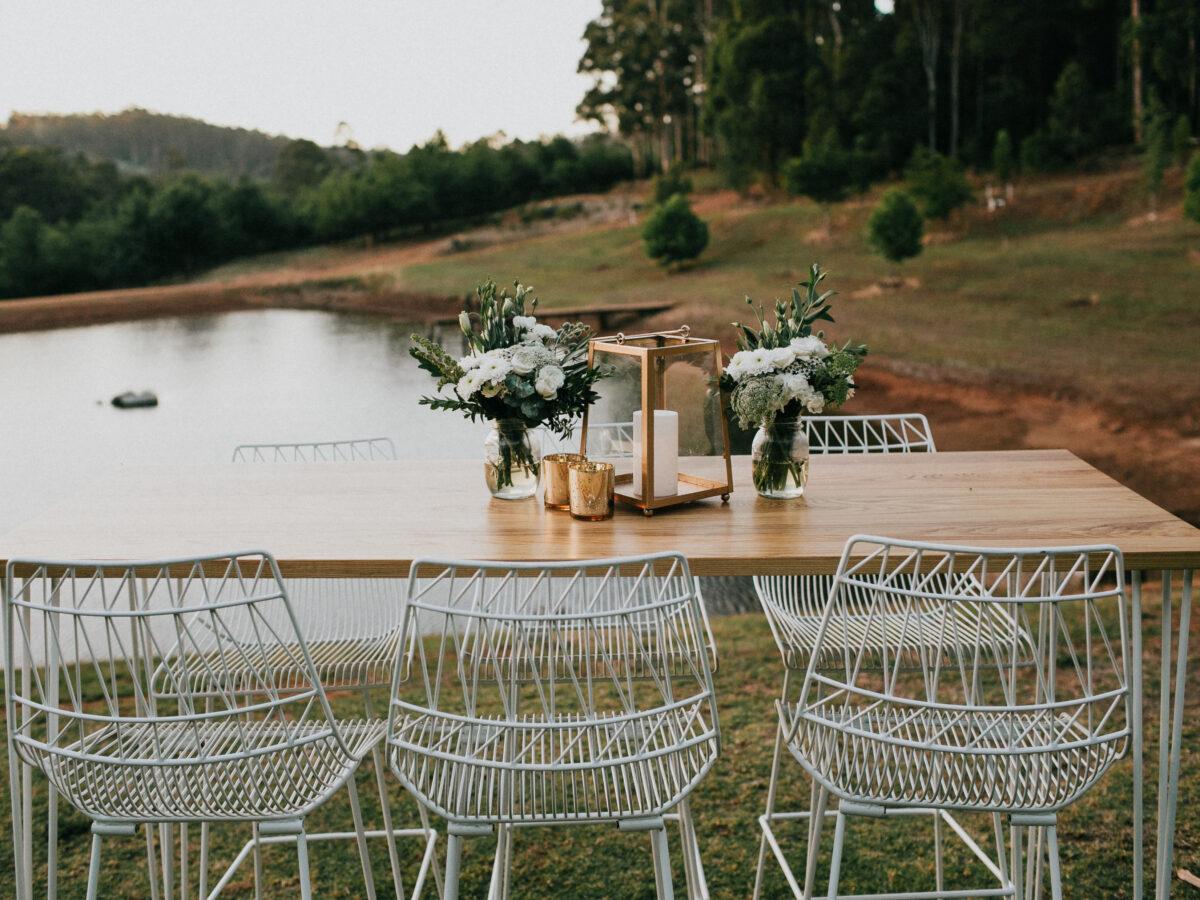 White Arrow Chairs