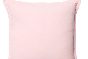 Photograph of Soft Pink Cushion – 43cmSQ