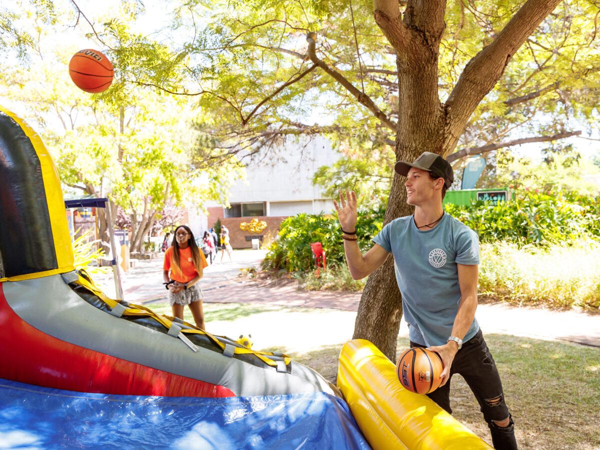 O-Week Inflatable Games