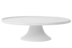 Photograph of White Cake Stand